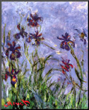 Claude Monet Irises...
