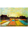 Plant Flower Poster Holland Flower Bed by Vincent van Gogh