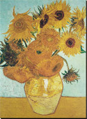 Vincent VanGogh Sunflowers c.1888...